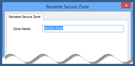 rename encrypted zone on encrypted cd